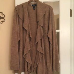 Karen Scott Cardigan Sweater Size 3X